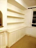 Rayleigh fitted made to measure floating shelves